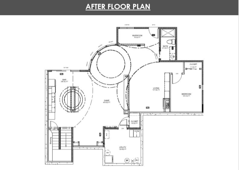 Basement Remodel Designs in Denver