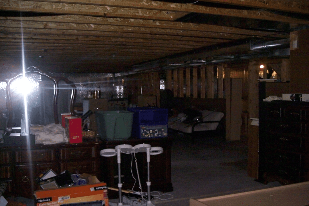 unfinished basement | basement remodeling denver co