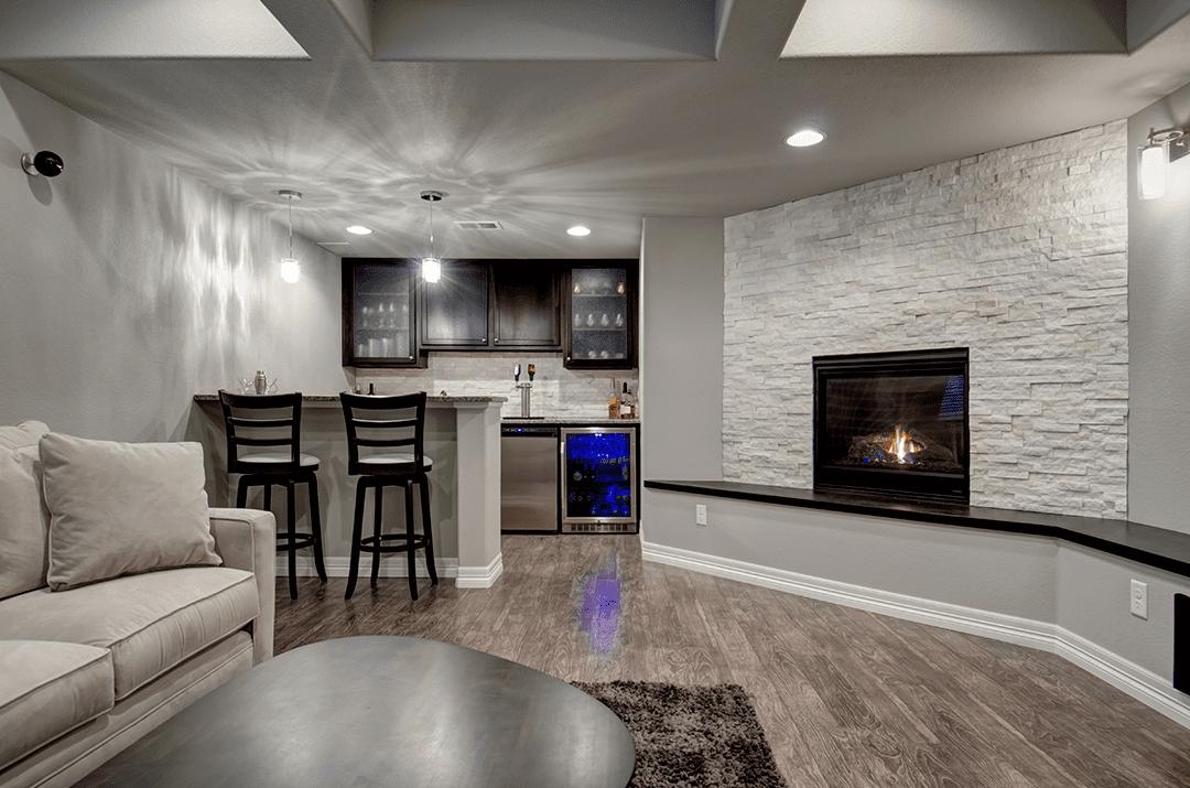 finished full basement | basement remodel denver co