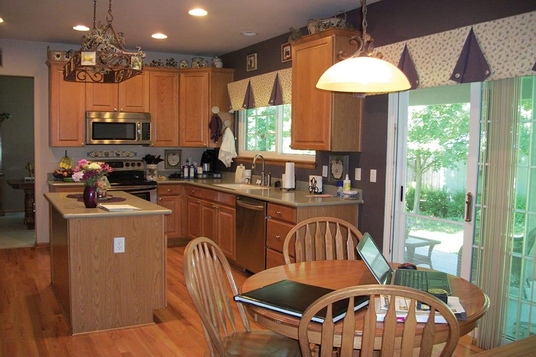 kitchen before remodeling denver co