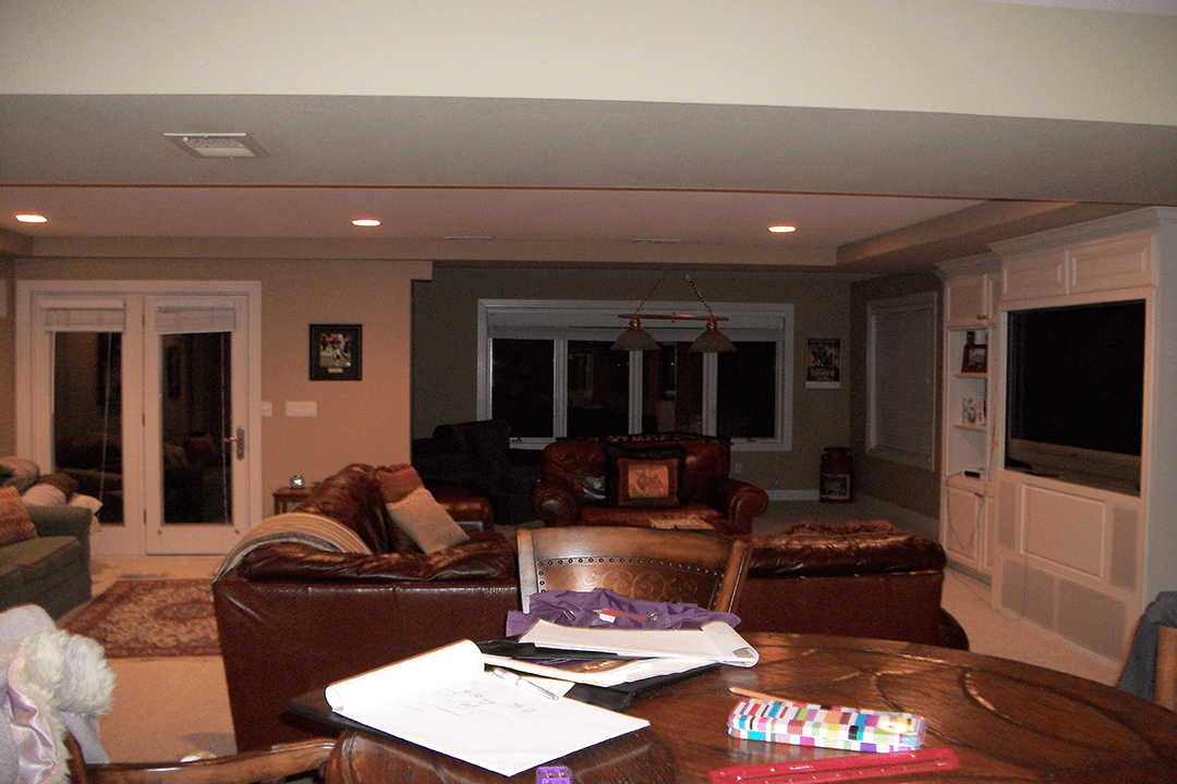 basement finished before naperville il