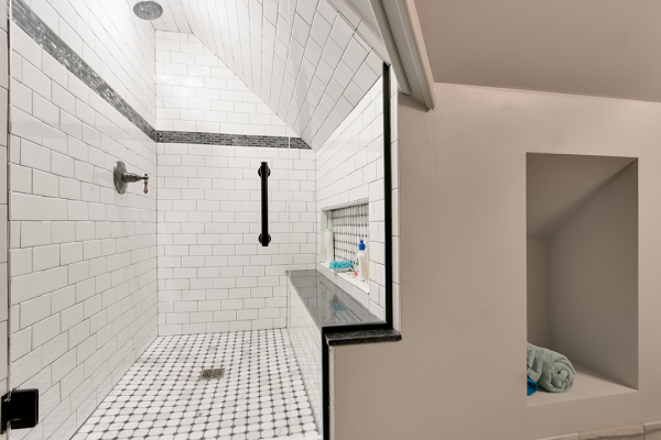 walk in shower | bathroom remodel naperville il