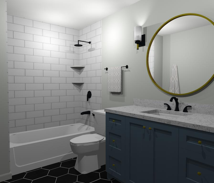 Bathroom Updates with FBC Remodel | Remove and Replace in Naperville IL