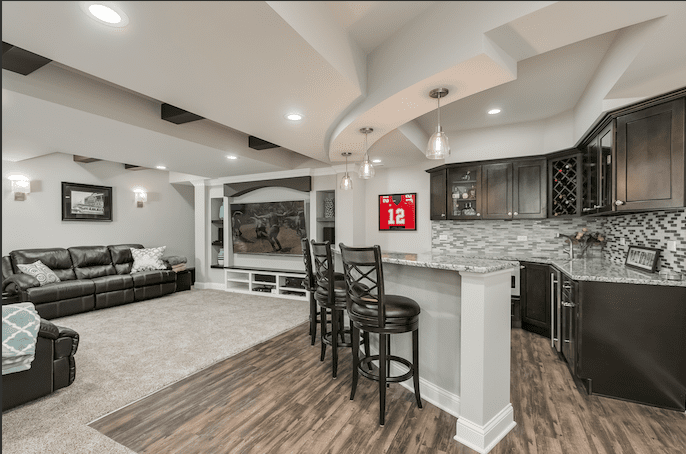 How Much Does a Naperville Basement Remodel Cost? | FBC Remodel