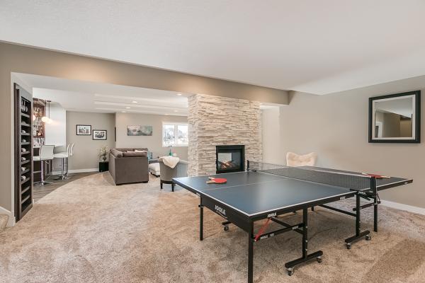 game room minneapolis | basement remodel minnesota