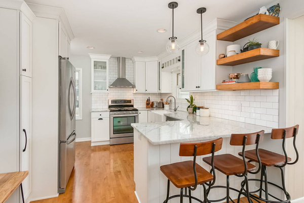 Kitchen Cabinet, Countertop, and Fixture Replacements in Minneapolis