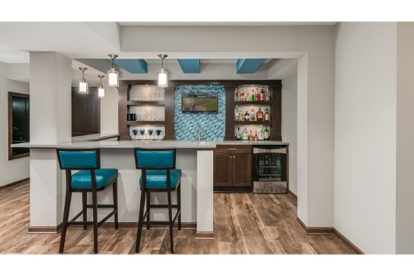 Trendy Interior Design | Basement Remodels | FBC Remodel
