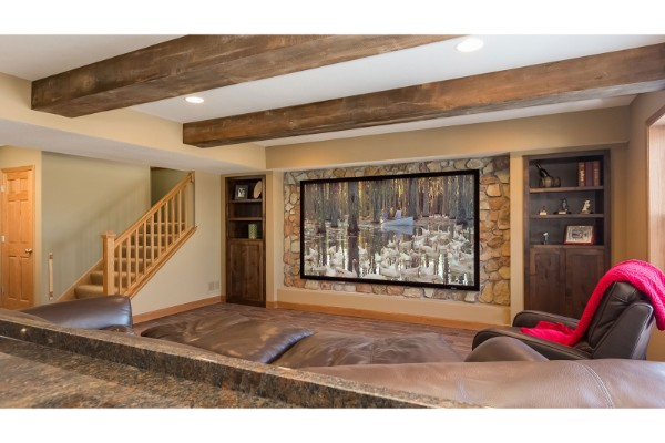 Prairie-Hills-Basement-Stone-TV-Wall