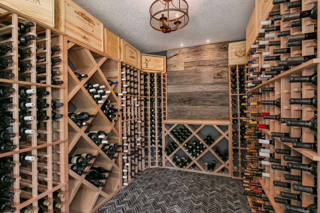 Wine Cellar Basement Remodel with FBC Remodel
