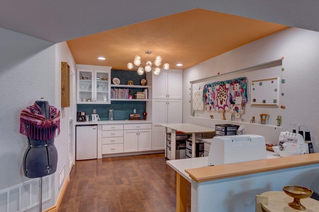 sewing storage door | craft room remodel | fbc remodel