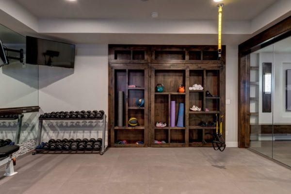 Home Gym | Basement Finishing | FBC Remodel