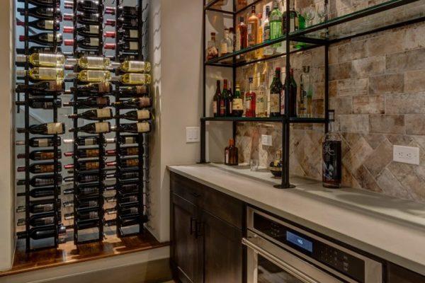 Wine Cellar Basement Remodel with FBC Remodel
