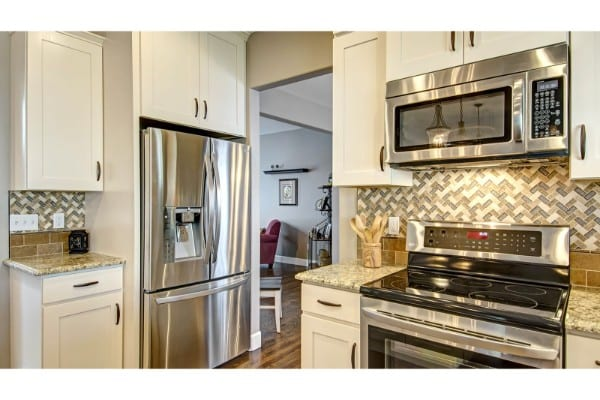 kitchen remodel | stainless steel appliances | fbc remodel