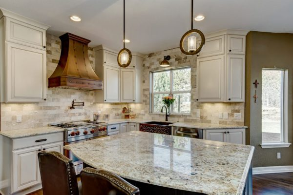 kitchen remodel with pendant lights | fbc remodel