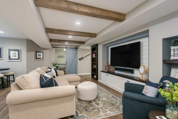 home theater design | living room remodel
