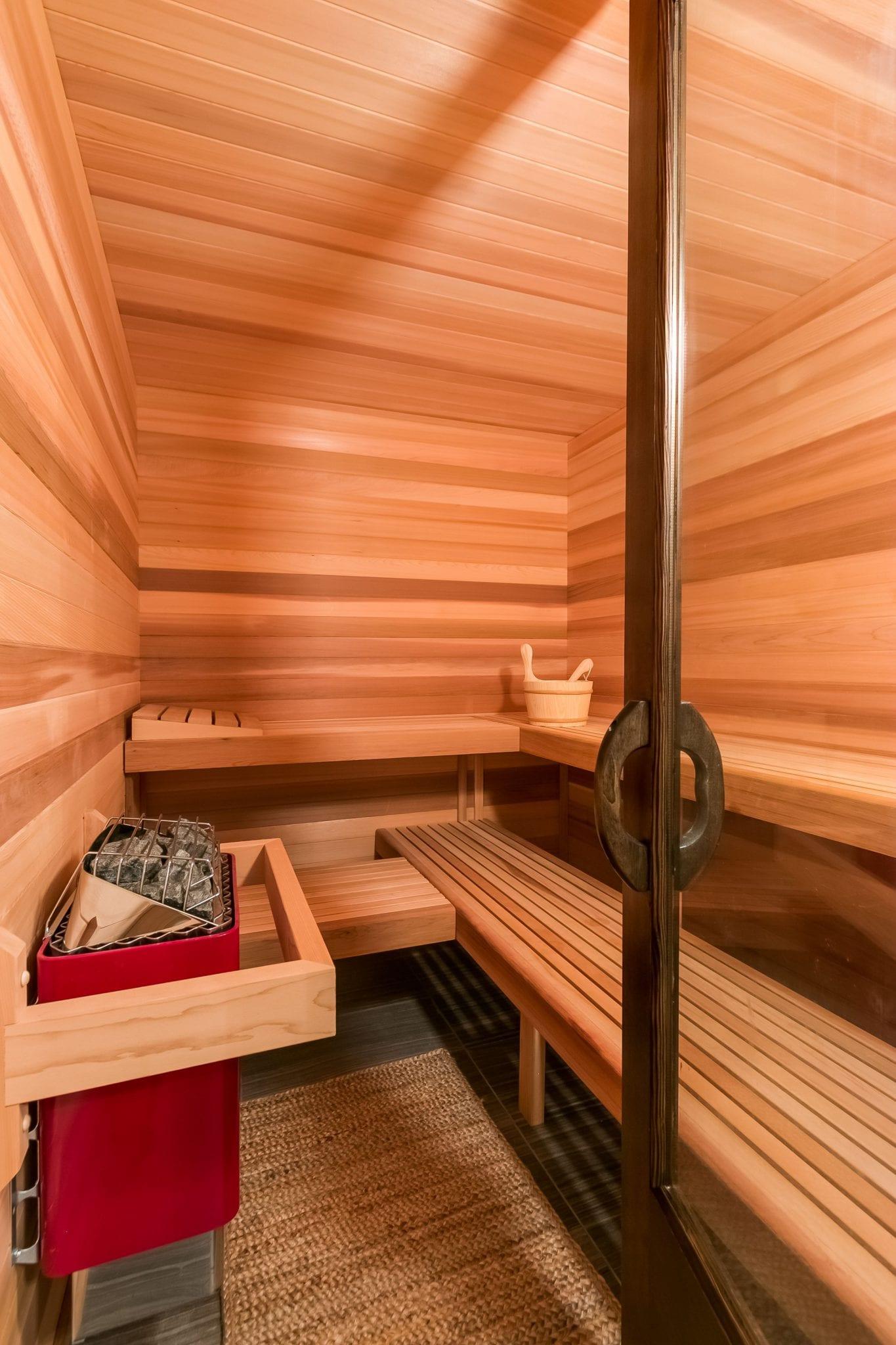 sauna | bathroom renovation