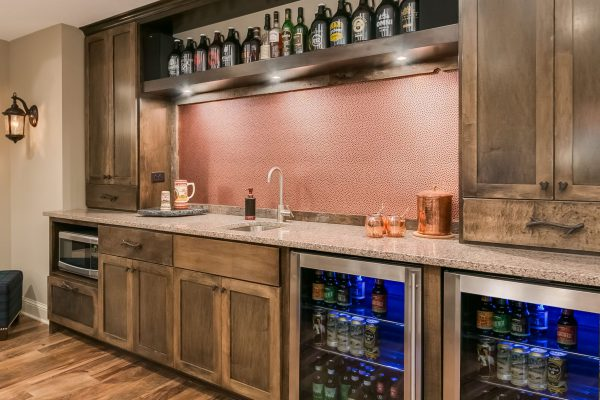 basement remodel | wet bar | fbc remodel