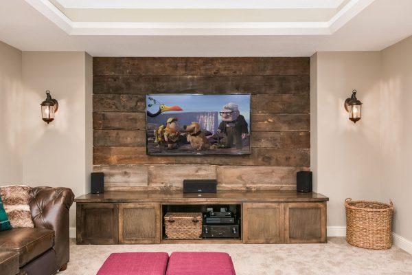 basement renovation | home theater | fbc remodel
