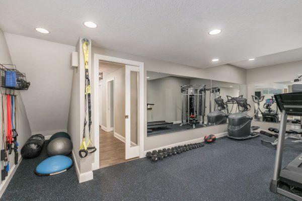 home gym | basement remodel | fbc remodel