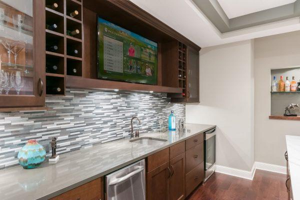 traditional basement remodel | fbc remodel