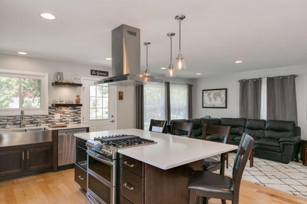 kitchen remodel | dark wood accents | fbc remodel