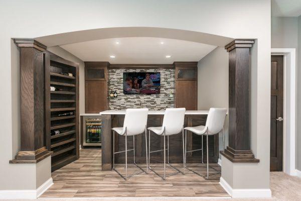 basement renovation | wet bar | fbc remodel