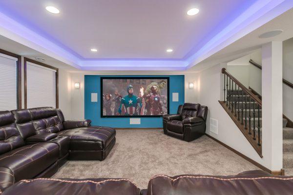 Basement Finish | Basement Remodel | Home theater | FBC Remodel