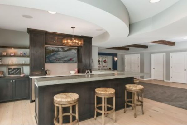 Basement Remodel | Wet Bar