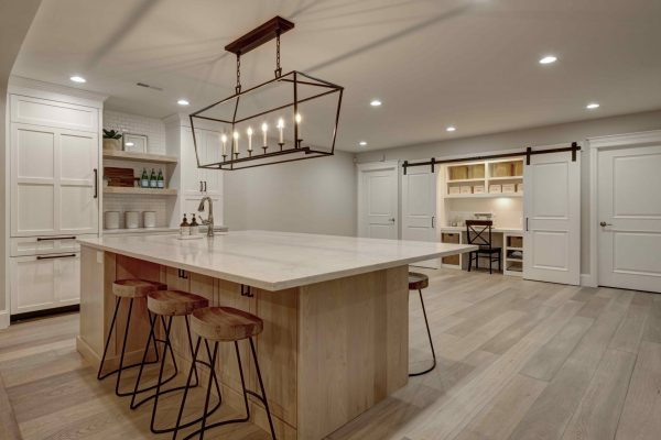 basement remodel | craft room storage