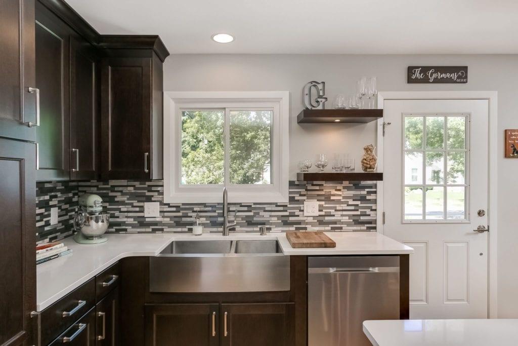 kitchen remodel   dark wood kitchen   fbc remodel