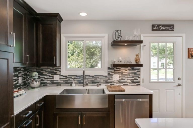 kitchen remodel | dark wood kitchen | fbc remodel